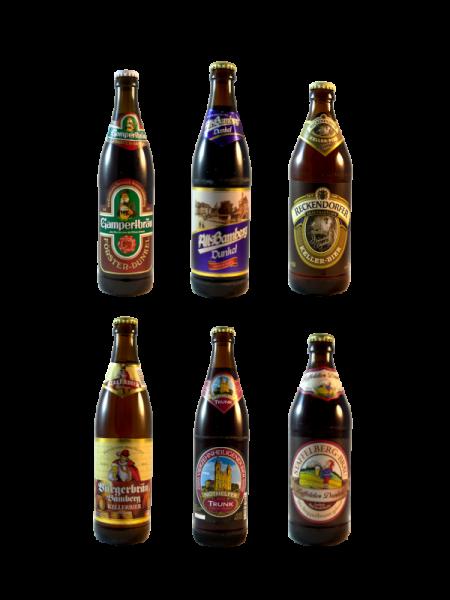 Fränkisches Dunkelbierset mit 6 erlesenen Bieren aus Oberfranken