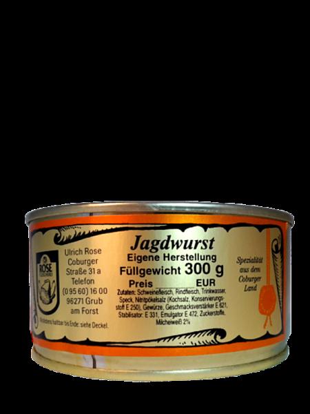 Hausmacher Jagdwurst - Fleischerei Rose
