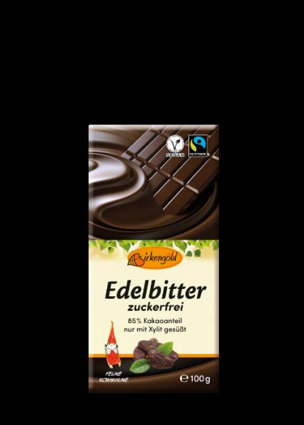 Xylit Schokolade Edelbitter