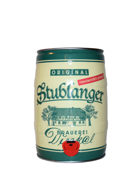 Dinkelbräu Bierfass Kellerbier