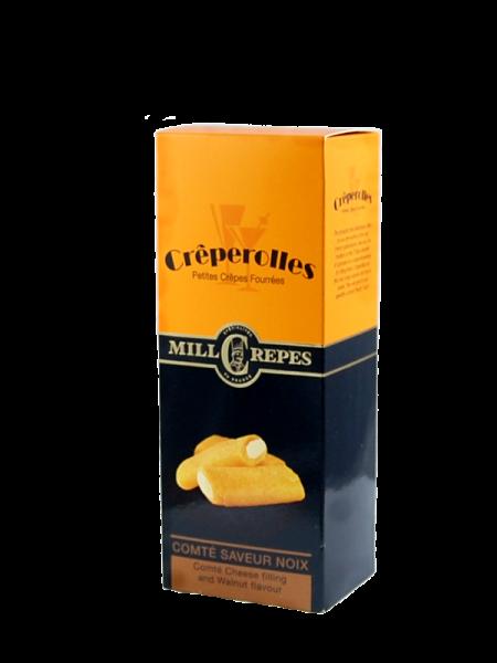 Millcrepes Creperolles Comté - Walnuss Geschmack (12x100g)