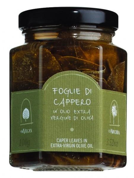 La Nicchia Kapernblätter in Olivenöl