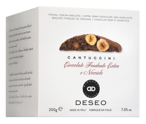 Cantuccini con nocciole e ciccolato - Haselnuss & Bitterschokolade