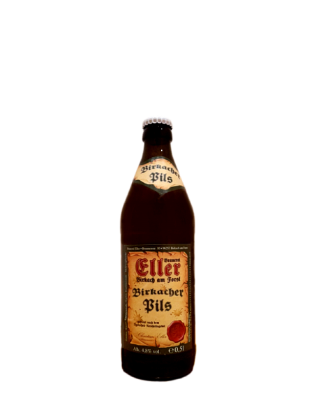 Brauerei Eller Birkacher Bier Pils