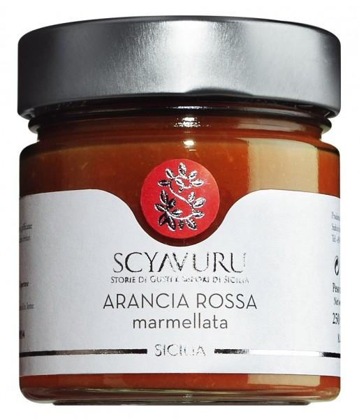 Scyavuru Arancia Rossa marmellata - Blutorangenmarmeldae 250g