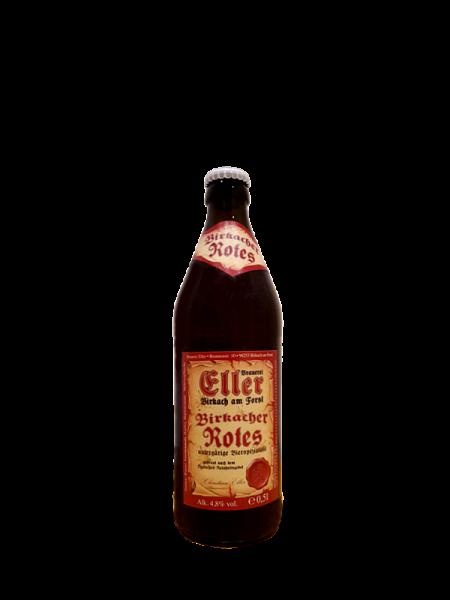 Brauerei Eller Birkacher Bier Rotes