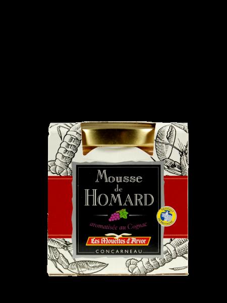 Hummermousse mit Cognac