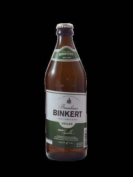 Brauerei Binkert Kellerbier Main-Seidla
