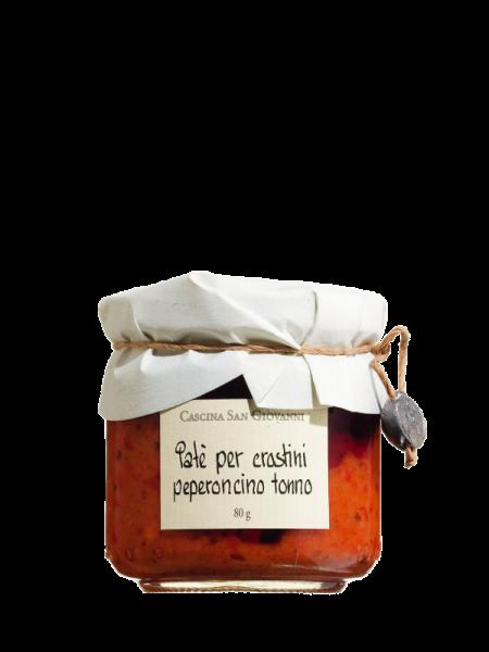 Peperoni-Thunfischcreme