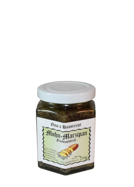 Mohn Marzipan Fruchtaufstrich