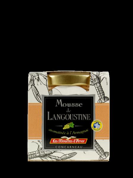 Langustine Mousse mit Armagnac