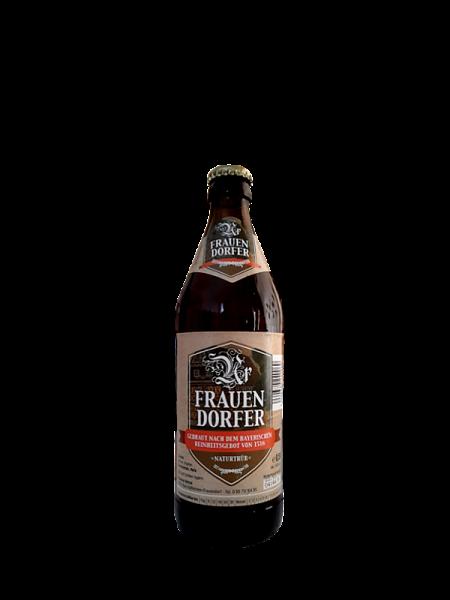 Frauendorfer Bier naturtrüb