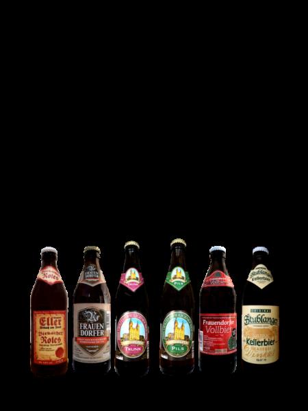 Fränkische Bierspezialitäten Probierset