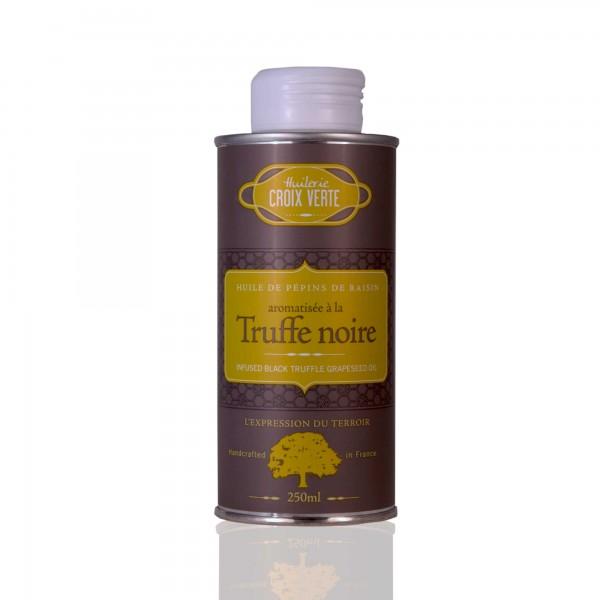 Huilerie Croix Verte Truffe noir - Traubenkernöl mit schwarzem Trüffel