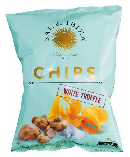 Sal de Ibiza - Chips mit weißem Trüffel (125g)