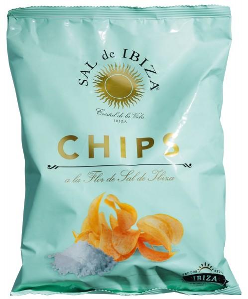 Sal de Ibiza Flor de Sal Chips Meersalz 125g