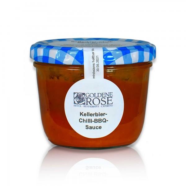 Goldene Rose Kellerbier-Chilli-BBQ-Soße